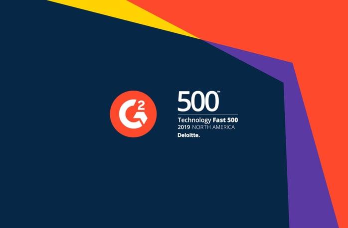 G2 on The Deloitte Technology #Fast500