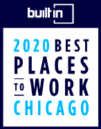Badge: Built In 2020 Best Places to Work Chicago